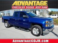 This Blue 2014 Chevrolet Silverado 1500 is a ONE Owner