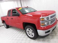 2014 Chevrolet Silverado 1500 LT Victory Red Certified.