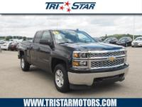 This 2014 Chevrolet Silverado 1500 LT boasts features