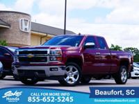 2014 Chevrolet Silverado 1500 in Red. 6-Speed Automatic