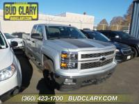 New Price! CARFAX One-Owner. Silver 2014 Chevrolet