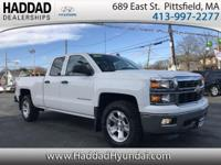 2014 Chevrolet Silverado 1500 LT White ALLSTAR 6-Speed