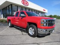 Thru our Shop and ready for You! This 2014 Silverado is
