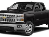 Black 2014 Chevrolet Silverado 1500 LT 4WD 6-Speed
