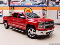 2014 Chevrolet Silverado 1500 LTZ TEXAS EDITION  Red
