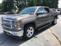 Brownstone Metallic 2014 Chevrolet Silverado 1500 LTZ