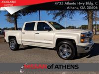 Look at this 2014 Chevrolet Silverado 1500 LTZ. Its