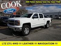 THIS ONE HAS THE LTZ 4WD PACKAGE***Z71 OFF ROAD
