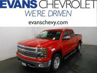 GM Certified! LTZ Package! Crew Cab! Four Wheel Drive!