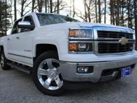 2014 Chevrolet Silverado 1500, Summit White, One Owner,