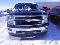 *LOCAL TRADE*. Silverado 1500 LTZ, 4D Crew Cab, EcoTec3