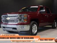 2014 Chevrolet Silverado 1500 LTZ in Red and GM