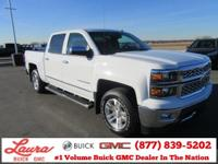 1-Owner New Vehicle Trade! LTZ 5.3 V8 Crew Cab 4x4.