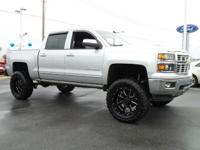 SIX INCH LIFT W/ WHEELS AND TIRES ,BAD TO THE BONE!!