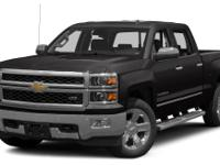 2014 Chevrolet Silverado 1500 LTZ in Black vehicle
