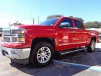 THIS IS A BEAUTIFUL 2014 CHEVY SILVERADO 1500 LTZ CREW