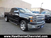 CARFAX One-Owner. Black 2014 Chevrolet Silverado 1500