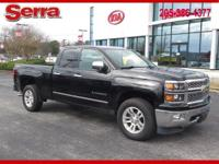 Black 2014 Chevrolet Silverado 1500 LTZ 1LZ 4WD 6-Speed