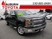 NAVIGATION, LEATHER, 4WD! This trusty 2014 Chevrolet