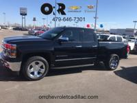 New Price! Black 2014 Chevrolet Silverado 1500 LTZ 4WD