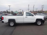 2014 Summit White Chevrolet Silverado 1500 Work Truck