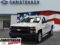 2014+Chevrolet+Silverado+1500+Work+Truck+In+Summit+Whit