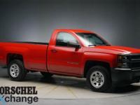 Red 2014 Chevrolet Silverado 1500 Work Truck6-Speed