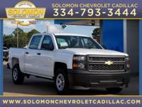 2014 Chevrolet Silverado 1500 Work Truck in White