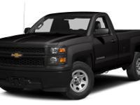 Black 2014 Chevrolet Silverado 1500 Work Truck 4WD