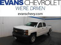 GM Certified!! Work Truck Package!! Crew Cab!! Four
