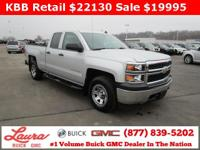 1-Owner New Vehicle Trade! Work Truck 4.3 V6 Extended