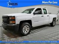 GM Certified, 4D Double Cab, EcoTec3 5.3L V8 Flex Fuel,