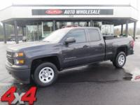 From mountains to mud, this Gray 2014 Chevrolet