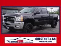 2014 Chevrolet Silverado 2500HD LTZ in Black with Ebony