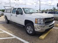 Certified. Summit White 2014 Chevrolet Silverado 2500HD