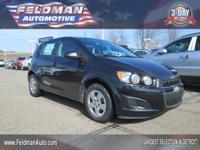 This 2014 Chevrolet Sonic LS... Features include:
