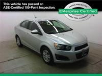 CHEVROLET Sonic Compact, fuel efficient, and top safety