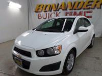 Look at this 2014 Chevrolet Sonic LT. Its Automatic