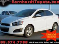 We are happy to offer you this 2014 Chevrolet Sonic LT