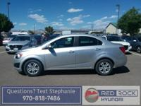 Don't miss out on this Turbocharged 2014 Chevy Sonic.
