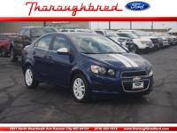 Ready to tame the road, our agile 2014 Chevy Sonic LT