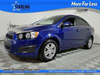 Sonic LT, GM Certified, 4D Sedan, ECOTEC 1.8L I4 DOHC
