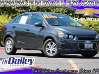 Options:  2014 Chevrolet Sonic Lt Gray Qualifies For