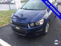 Recent Arrival! 2014 Chevrolet Sonic Blue Topaz