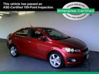 CHEVROLET Sonic Compact, fuel efficient, and top