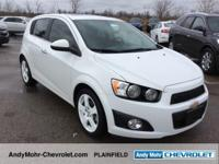 Chevrolet Sonic  Clean CARFAX. Odometer is 17935 miles