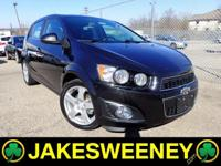 Meet our GM Certified 2014 Chevrolet Sonic. This