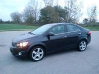 New Price! Black Granite Metallic 2014 Chevrolet Sonic