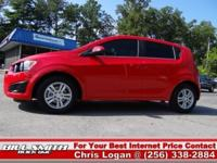 This is one Sharp Chevy Sonic Hatchback! It was Bought