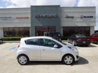 2014 Chevrolet Spark LS in Silver Ice Metallic